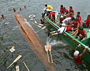 Boats sank in Typhoon Chanchu: 200 Vietnamese fishermen missing, 24 dead
