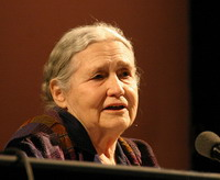 Doris Lessing sees no literary potencial in Zimbabwe for now