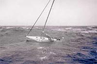 Man and woman rescued in Arabian Sea 8 days after their yacht sank in storm