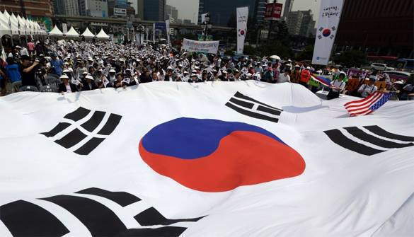South Korea can ruin talks with North at USA's command. South Korea in peace talks with North