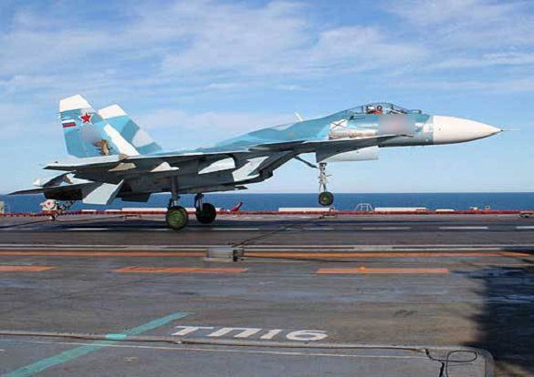 Russian aircraft carrier loses another fighter jet in Mediterranean Sea. 59385.jpeg