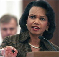 Condoleezza Rice meets Syrian foreign minister in talks