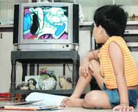 Too much TV too bad for diabetic kids, study says