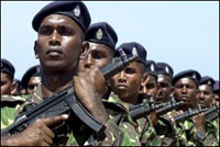 16 rebels killed in clashes in Sri Lanka