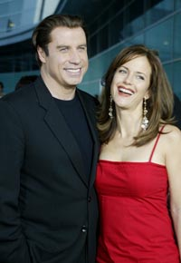 John Travolta and Kelly Preston host fundraiser for rehab center