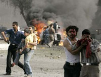 Iraqi suicide bomber attacks police station; 4 policemen killed