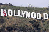 Who Changed Hollywood Sign ?