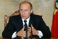 Putin hails Russia's rising economic muscle at end of short European tour