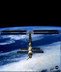 International space station resumes its normal life rhythm