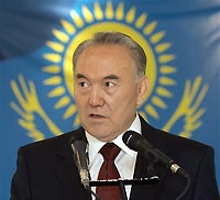 Kazakhstan's parliamentary elections end with president's party win