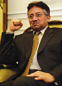 Pakistani President Musharraf to continue elections in February