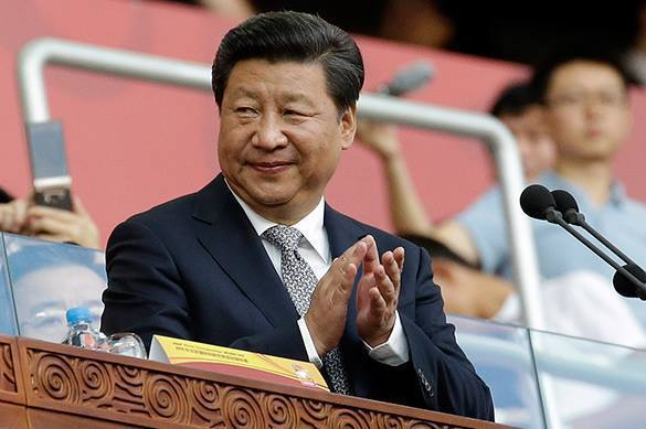 China's Xi Jinping to come to Davos to get rid of USA. 59393.jpeg