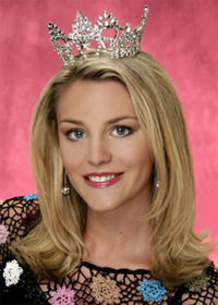 Miss America promotes Internet safety