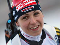 Magdalena Neuner Added Another Gold to Germany's Collection