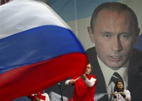 Presents for Putin's 55th birthday: blanket of peace, new airport and mass meetings
