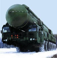 Topol-M missile systems to be outfitted with multiple warheads