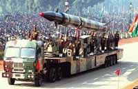 India test fires nuclear-capable missile Agni III