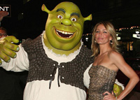 Cameron Diaz opens new 'Shrek' movie in Taiwan