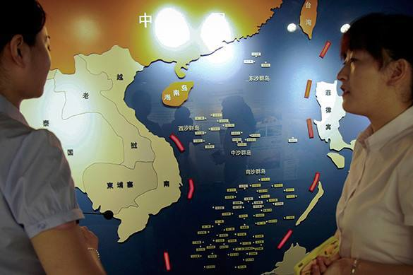 Billions of Chinese ready for the war in South China Sea. 58400.jpeg