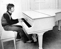 John Lennon's piano displayed outside Texas prison death house