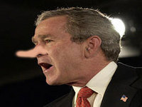 BUSH: Even though I've been proven wrong, I'm still right