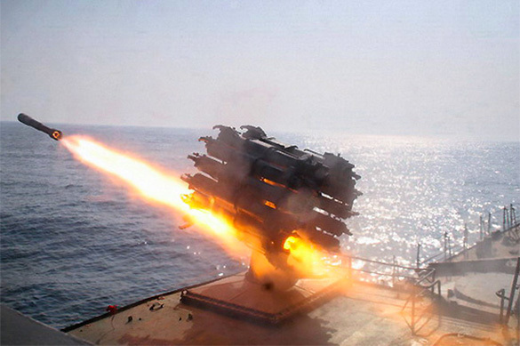 Russian frigate tests missiles near NATO ship. 60403.jpeg