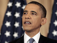 Saint Obama of the digital inquisition: God contacts Rome, Christ holds press conference. 50405.jpeg