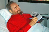 Cuban Vice President : Fidel Castro works hard