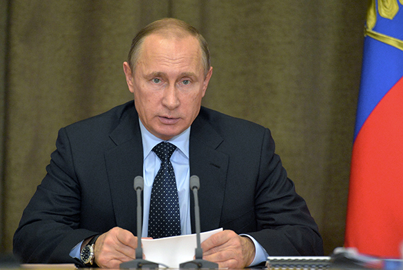 Putin: our enemies abroad prepare revolution after elections. Vladimir Putin