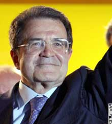Prodi's government wins trust vote