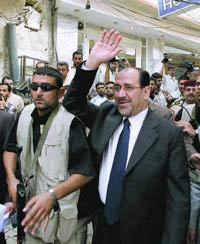 Iraqi Prime Minister Al-Maliki makes first-ever visit to Syria