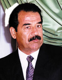Saddam's new novel on sale in Japan