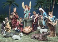 Hundreds of shepherd statues stolen from Nativity scene in Naples church
