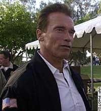 Schwarzenegger likens proposed border fence to Berlin Wall
