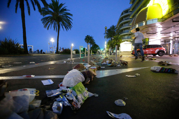 Two new arrests linked to Nice lorry massacre