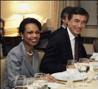 Condoleezza Rice meets with China's new foreign minister