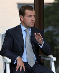 Russia's Medvedev Slams Europe for Ignorance in History