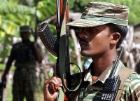 Government forces and Tamil Tiger rebels clash for third day in Sri Lanka