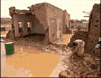 Sudan suffers from flash floods