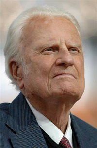 Billy Graham experiences second intestinal bleeding