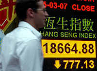 Asian markets suffer biggest plunge since Sept. 11 terror attacks