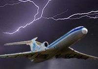Lightning strikes jetliner with 40 passengers on board
