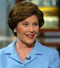 Laura Bush conceals details of procedure to remove her skin cancer tumor
