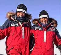 Equipment damage, frostbite end latest Bancroft-Arnesen North Pole trek