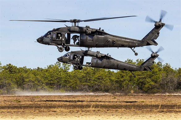 Black Hawk helicopters land on Poland's largest airfield. 60420.jpeg
