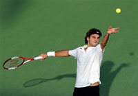 Roger Federer beaten after winning seven consecutive tournaments