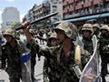 Government Troops Gain Partial Control of Protest Camp in