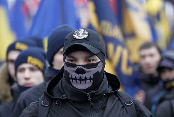 Ukrainian Nazis to arrange 'Mortal Regiment' in Kiev on May 9. 60425.jpeg
