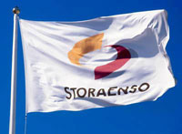 Finnish–Swedish Stora's profit drops owing to wood products