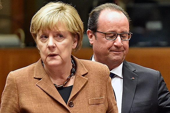 Get hold of Syria, or milk Russia? Hollande and Merkel quarrel over resources. Merkel and Hollande